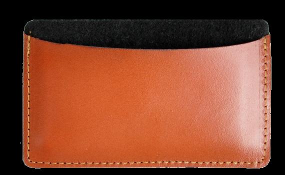 tarjetero feltand leather